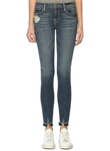 Slim Fit Jean Pantolon-Frame Denim